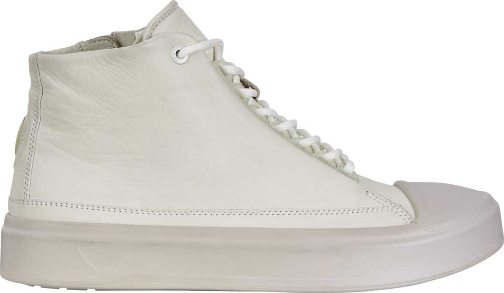 Women's ECCO Flexure T-Cap High Top, Shadow White Leather, large, image 2
