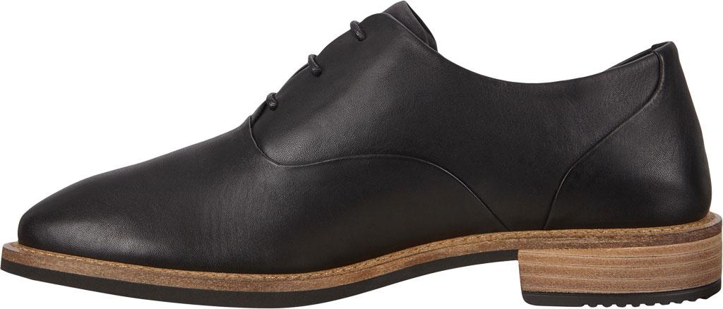 Women's ECCO Sartorelle 25 Tailored Oxford Tie, Black Top Grain Leather, large, image 3