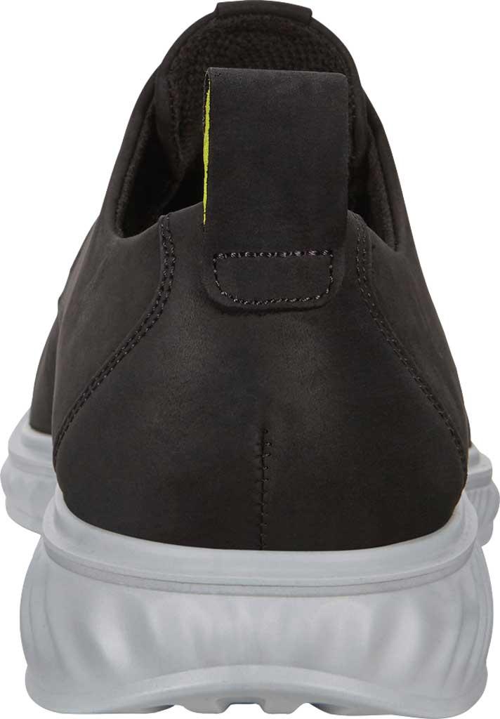 Men's ECCO ST1 Hybrid Lite Plain Toe Oxford, Black Nubuck, large, image 4