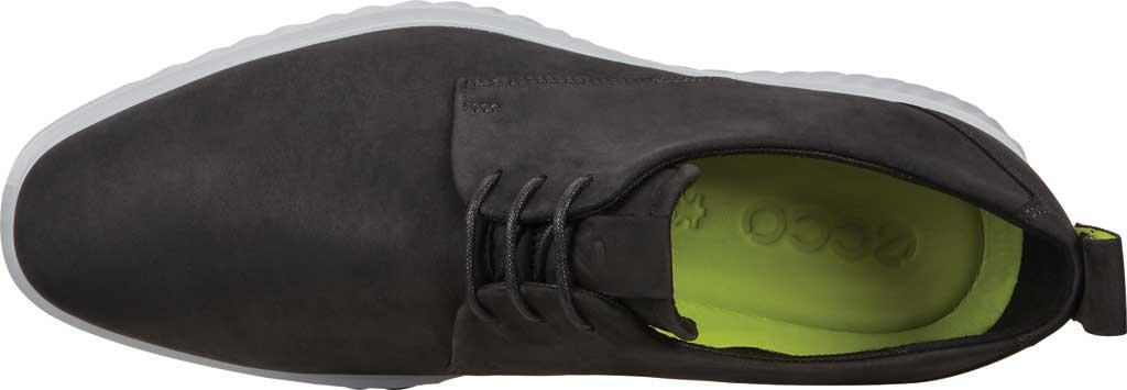 Men's ECCO ST1 Hybrid Lite Plain Toe Oxford, Black Nubuck, large, image 5