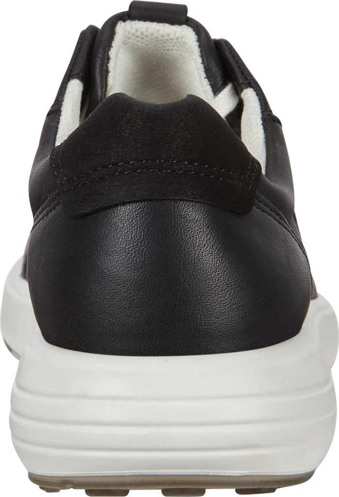 Women's ECCO Soft 7 Runner Fashion Sneaker, Black Full Grain Leather, large, image 4