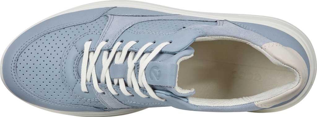Women's ECCO Soft 7 Runner Fashion Sneaker, Dusty Blue/Shadow White Full Grain Leather, large, image 5