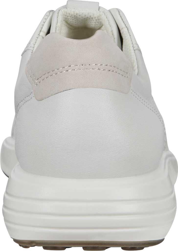Women's ECCO Soft 7 Runner Fashion Sneaker, White/Shadow White Full Grain Leather, large, image 4