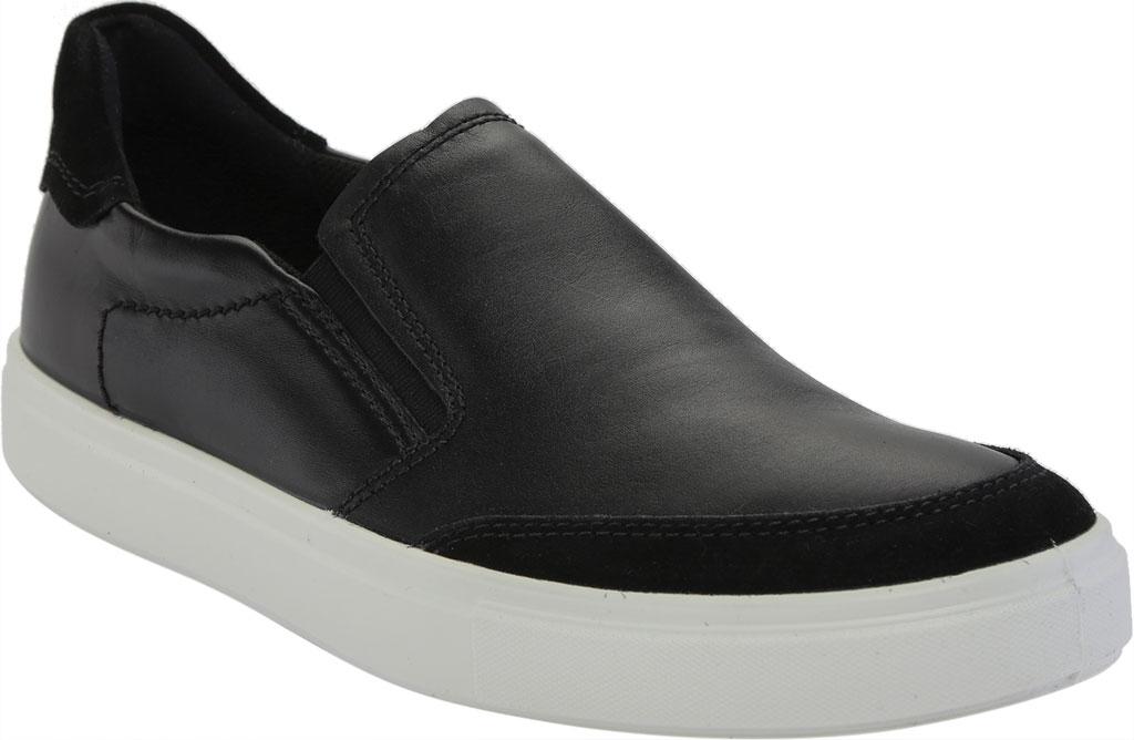 Men's ECCO Kyle Slip On, Black/Black Full Grain Leather, large, image 1
