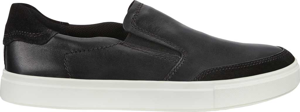 Men's ECCO Kyle Slip On, Black/Black Full Grain Leather, large, image 2