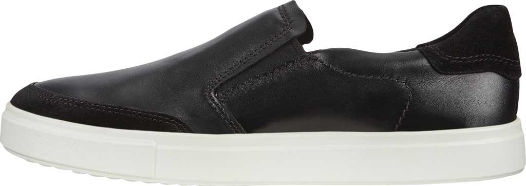 Men's ECCO Kyle Slip On, Black/Black Full Grain Leather, large, image 3