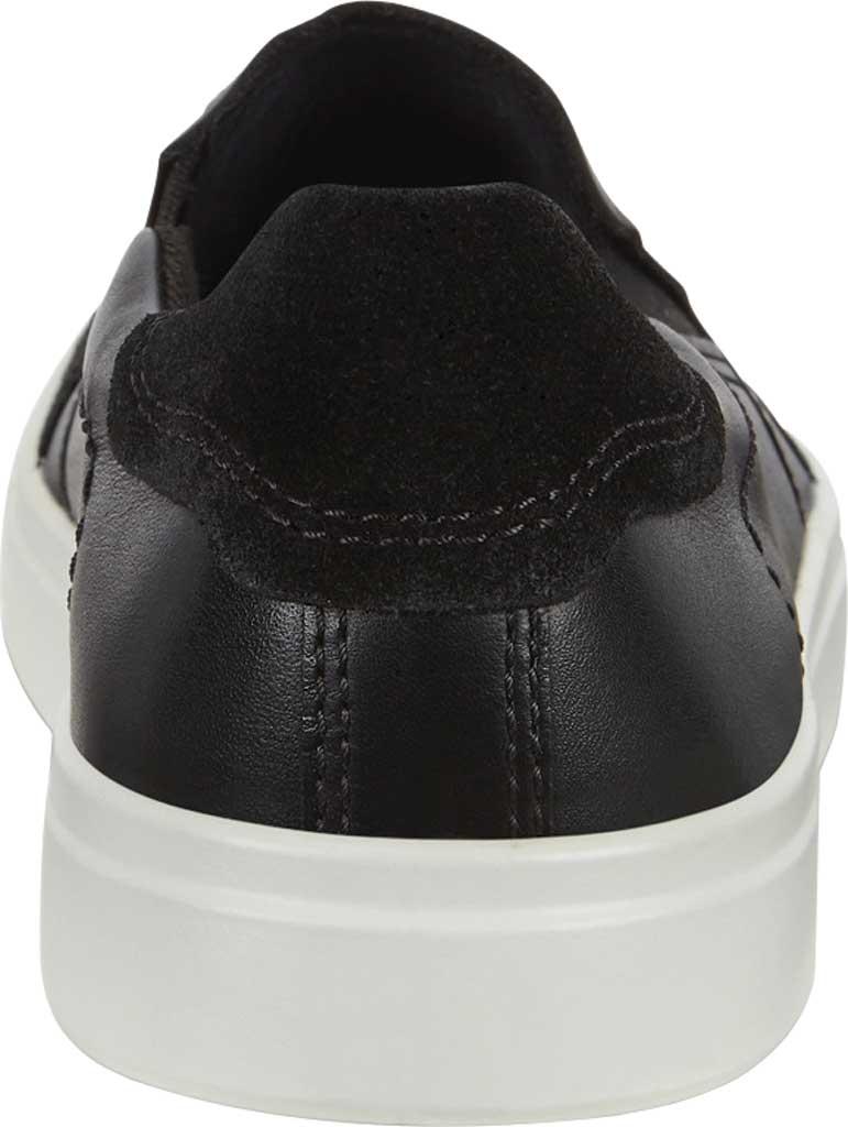 Men's ECCO Kyle Slip On, Black/Black Full Grain Leather, large, image 4