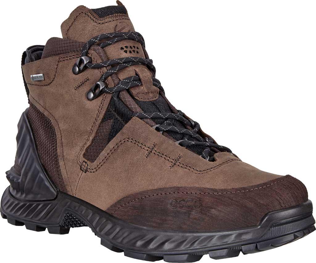 Men's ECCO Exohike High GORE-TEX Hiking Boot, Mocha/Cocoa Brown Nubuck, large, image 1