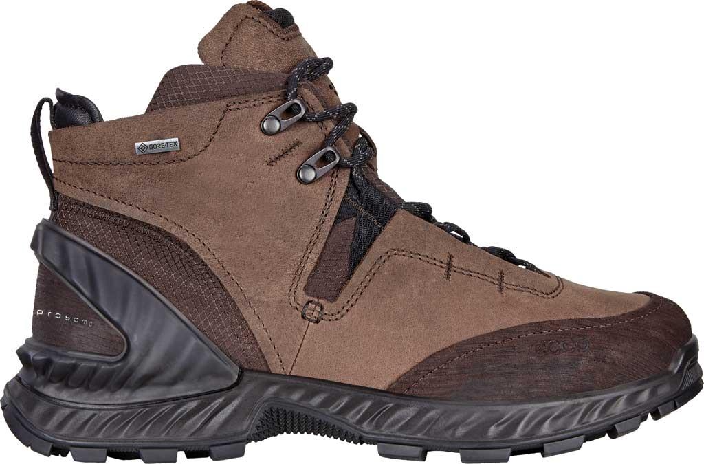 Men's ECCO Exohike High GORE-TEX Hiking Boot, Mocha/Cocoa Brown Nubuck, large, image 2