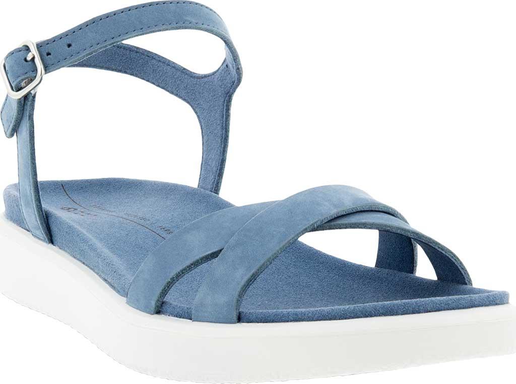 Women's ECCO Yuma Ankle Strap Sandal, Mirage Nubuck, large, image 1
