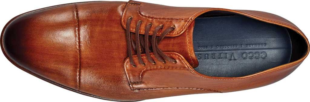 Men's ECCO Vitrus Mondial Cap Toe Oxford, Honey Leather, large, image 4