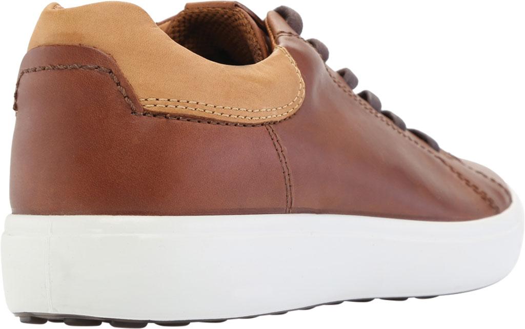 Men's ECCO Soft 7 Street Sneaker, Mahogany/Lion Leather, large, image 4