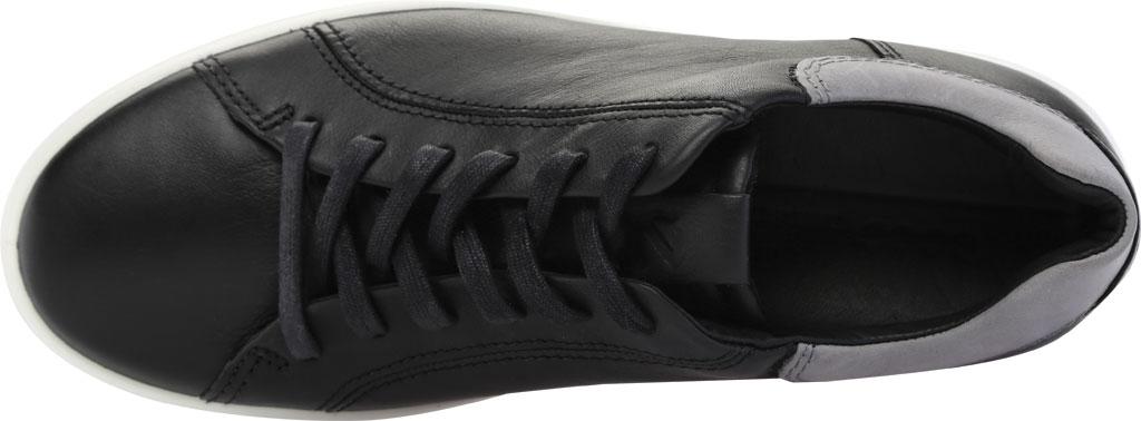 Men's ECCO Soft 7 Street Sneaker, Black/Titanium Cow Leather, large, image 5