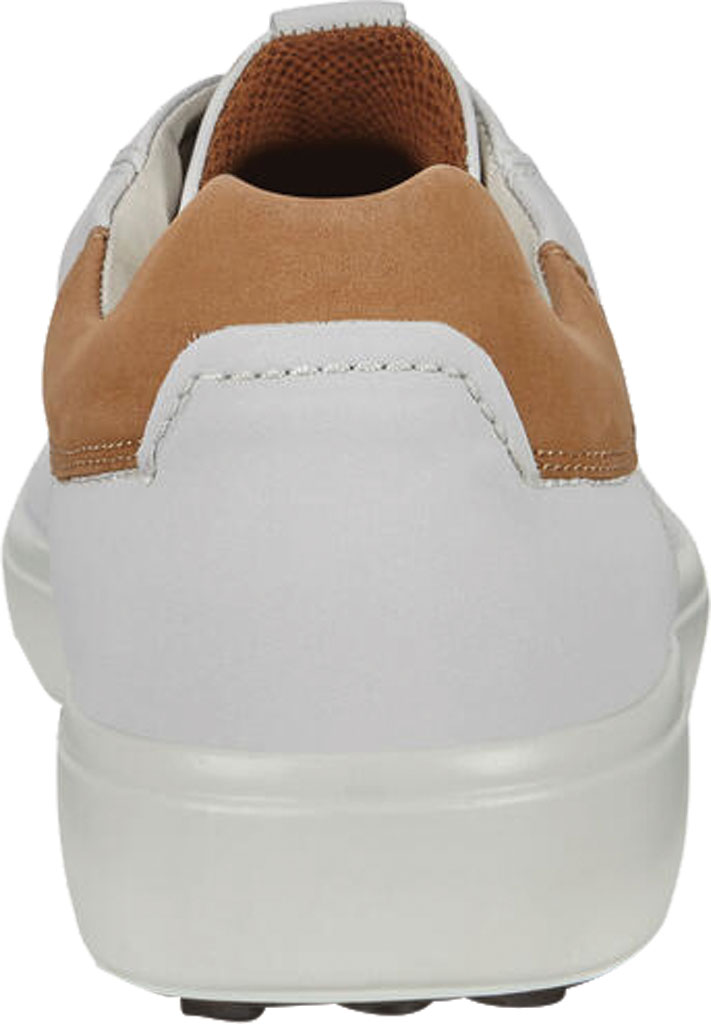 Men's ECCO Soft 7 Street Sneaker, White/Cashmere Leather, large, image 4