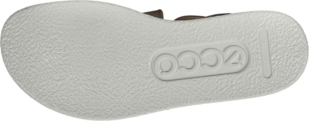 Women's ECCO Flowt Elastic Active Sandal, Grey Rose Nubuck, large, image 6