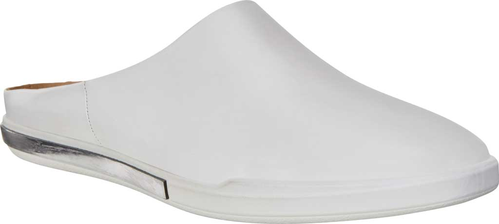 Women's ECCO Simpil II Mule, White Smooth Leather, large, image 1