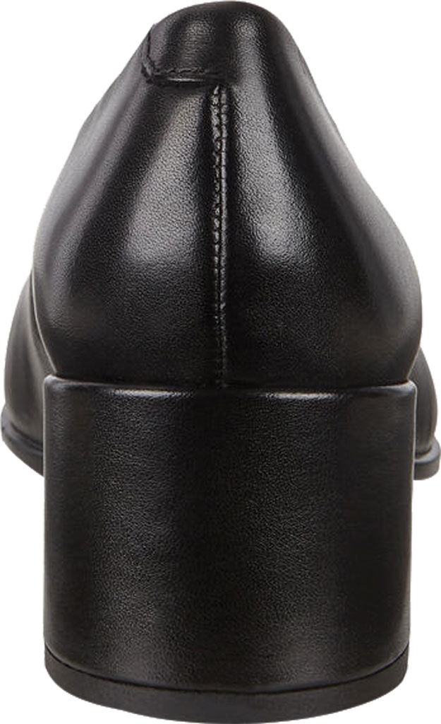 Women's ECCO Shape 35 Square Toe Pump, Black Full Grain Leather, large, image 4