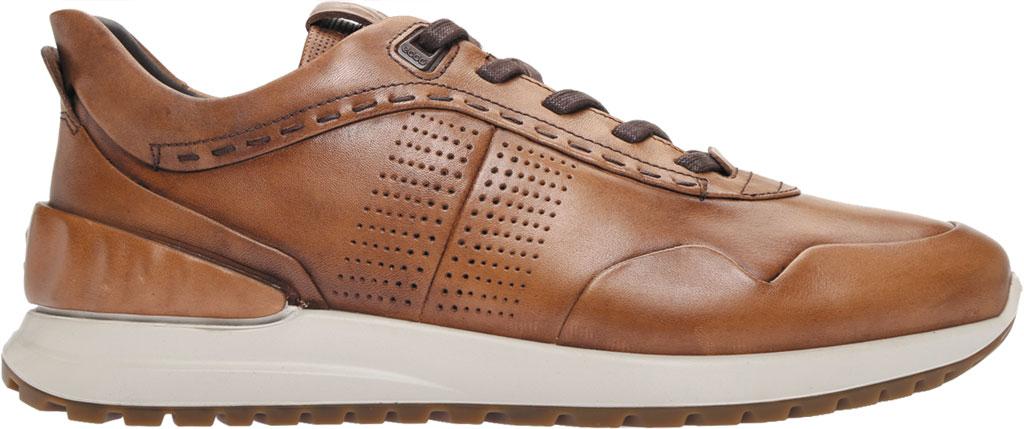Men's ECCO Astir Dress Sneaker, Amber Full Grain Leather, large, image 2