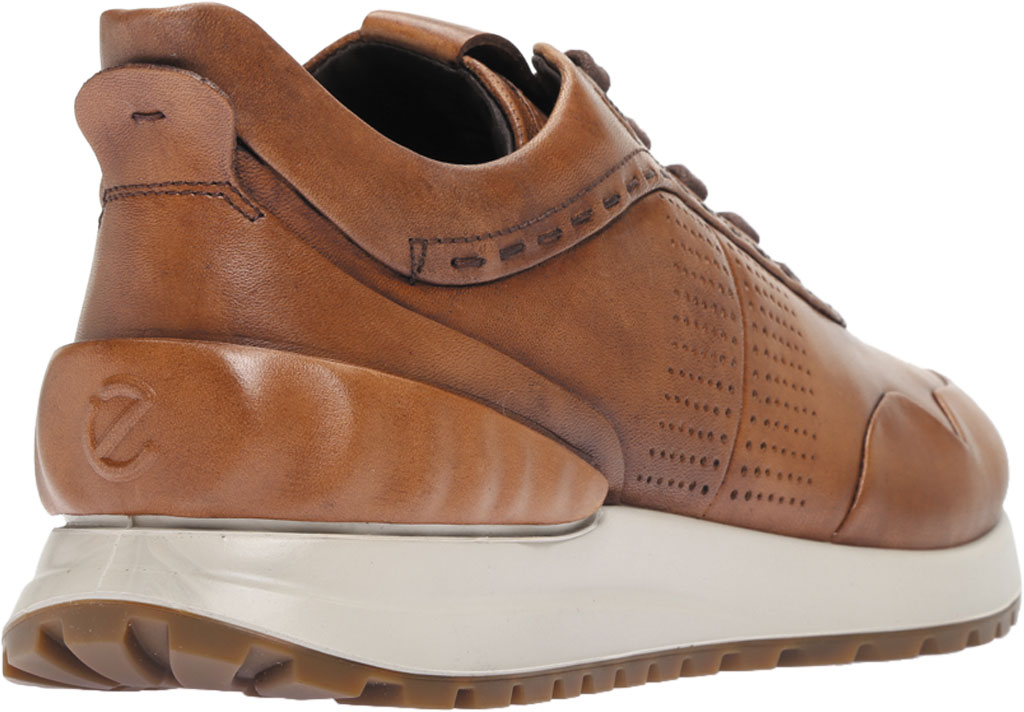 Men's ECCO Astir Dress Sneaker, Amber Full Grain Leather, large, image 4