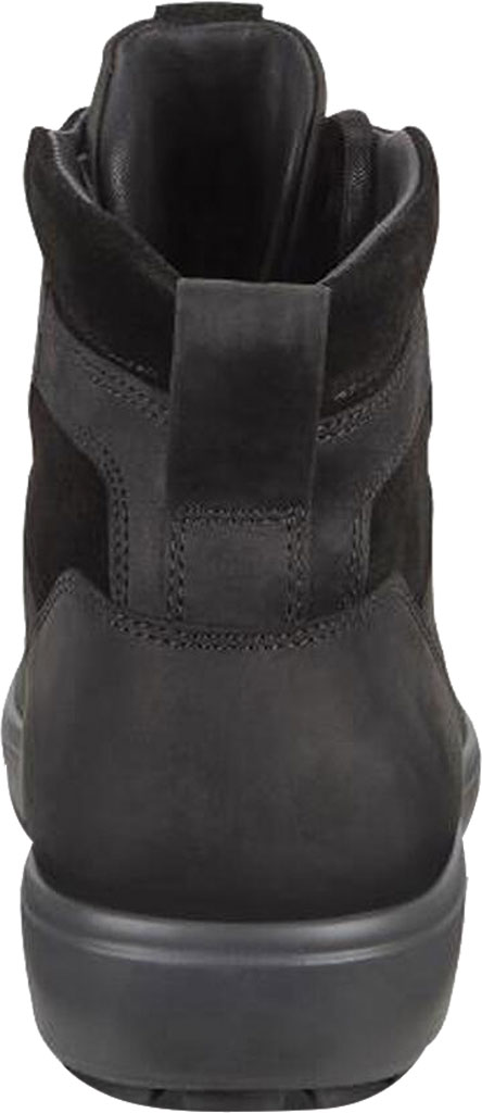 Men's ECCO Soft 7 Tred Moc Toe Ankle Boot, Black/Black Cow Oil Nubuck, large, image 4
