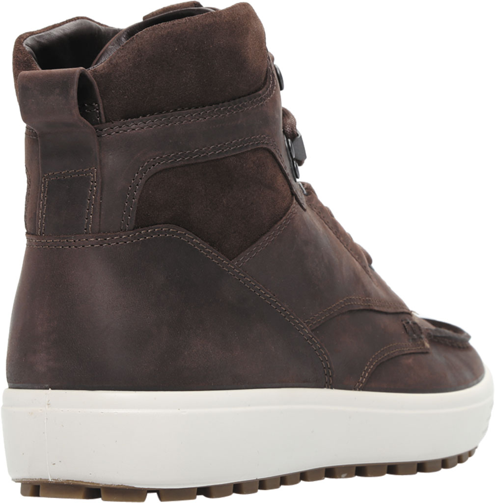 Men's ECCO Soft 7 Tred Moc Toe Ankle Boot, Mocha/Coffee Cow Oil Nubuck, large, image 4