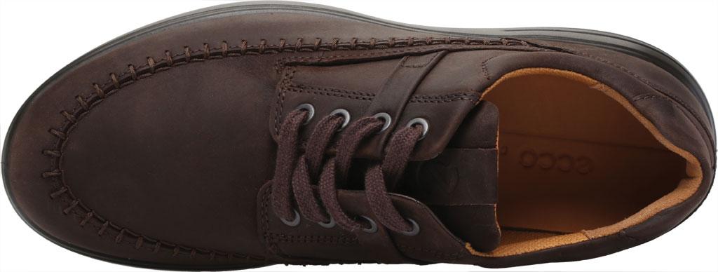 Men's ECCO Soft 7 Runner Seawalker Moc Toe Sneaker, Mocha Cow Oil Nubuck, large, image 5