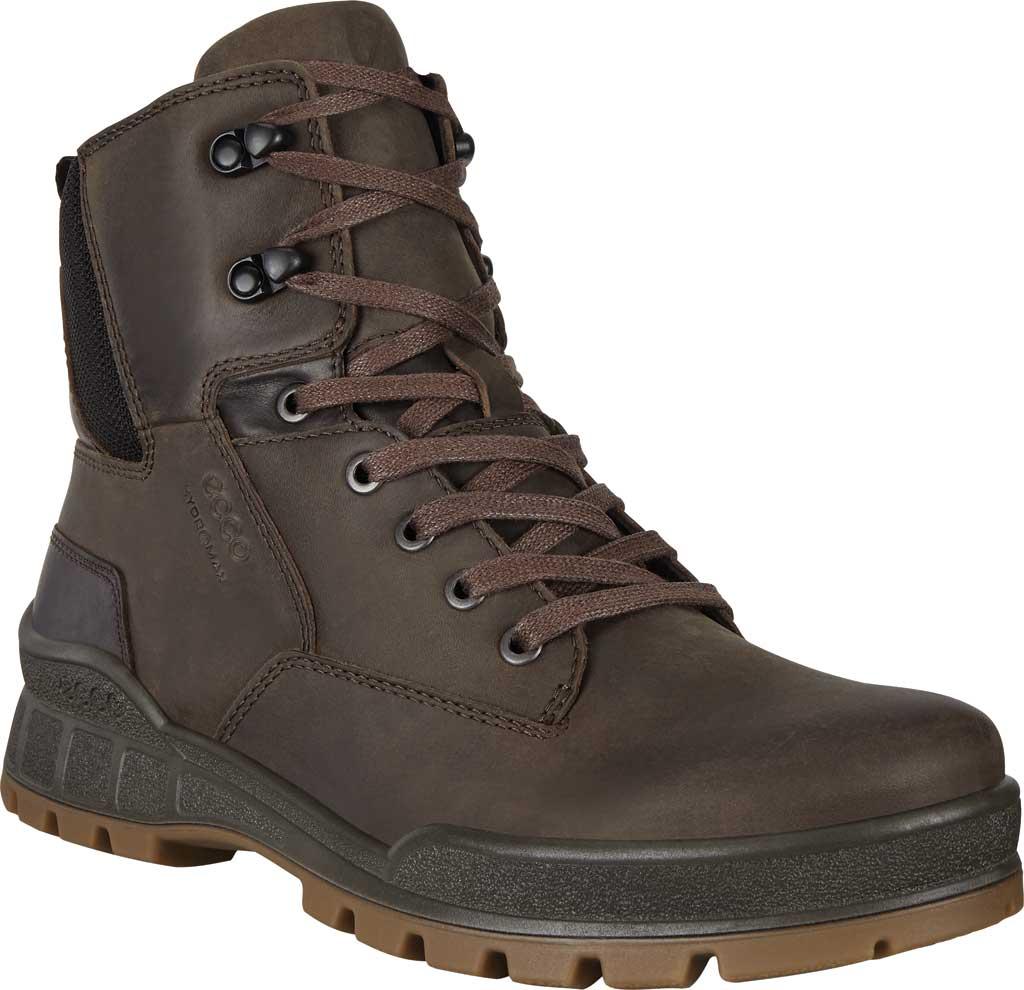 Men's ECCO Track 25 HYDROMAX PrimaLoft Boot, Coffee/Coffee Cow Oil Nubuck/Cow Leather, large, image 1