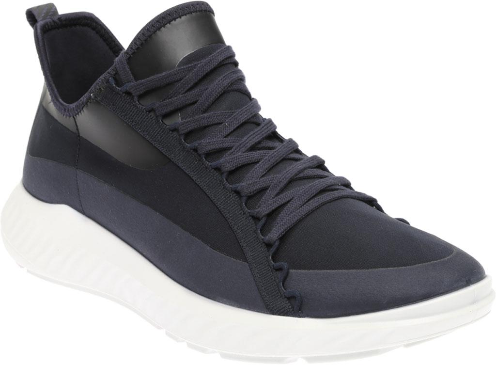 Men's ECCO ST.1 Lite Textile Fashion Sneaker, Night Sky/Night Sky Fabric, large, image 1