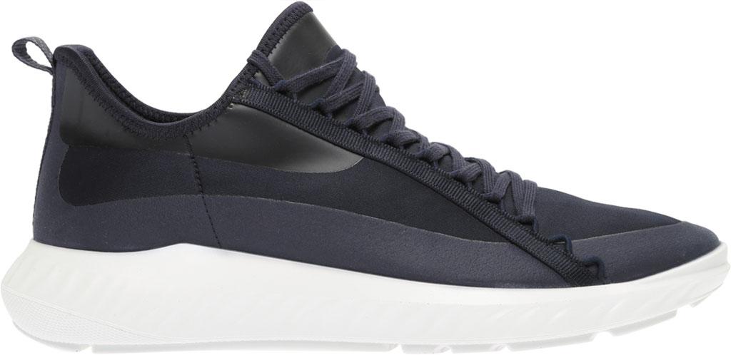 Men's ECCO ST.1 Lite Textile Fashion Sneaker, Night Sky/Night Sky Fabric, large, image 2