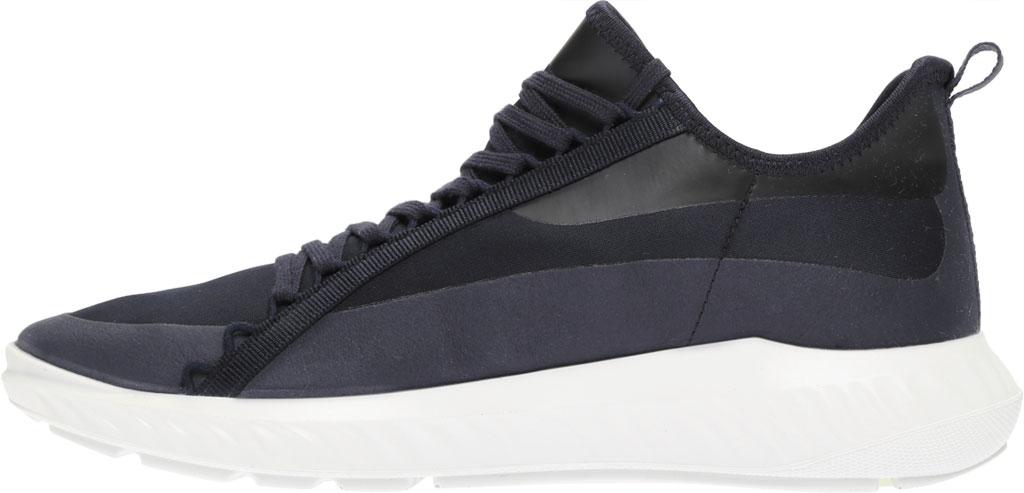 Men's ECCO ST.1 Lite Textile Fashion Sneaker, Night Sky/Night Sky Fabric, large, image 3