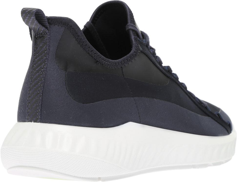 Men's ECCO ST.1 Lite Textile Fashion Sneaker, Night Sky/Night Sky Fabric, large, image 4