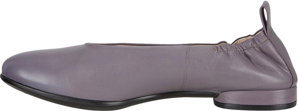 Women's ECCO Anine Classic Ballet Flat, Dusk Full Grain Leather, large, image 3