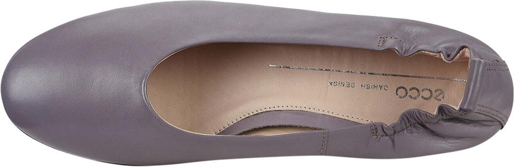 Women's ECCO Anine Classic Ballet Flat, Dusk Full Grain Leather, large, image 5
