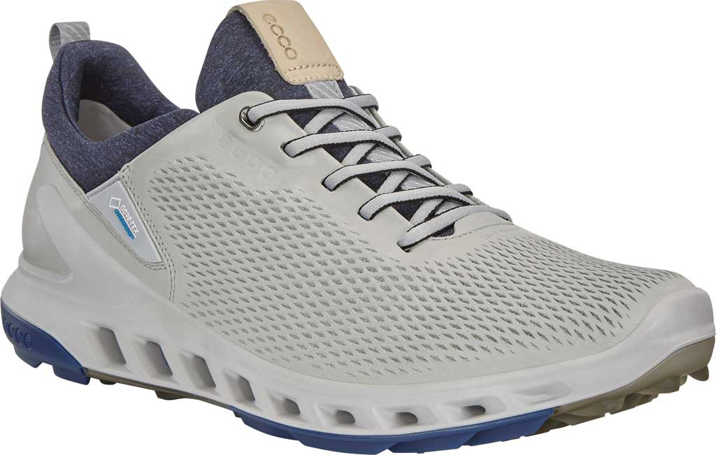 Men's ECCO BIOM Cool Pro GORE-TEX SURROUND Hybrid Golf Shoe, Concrete Yak Leather, large, image 1