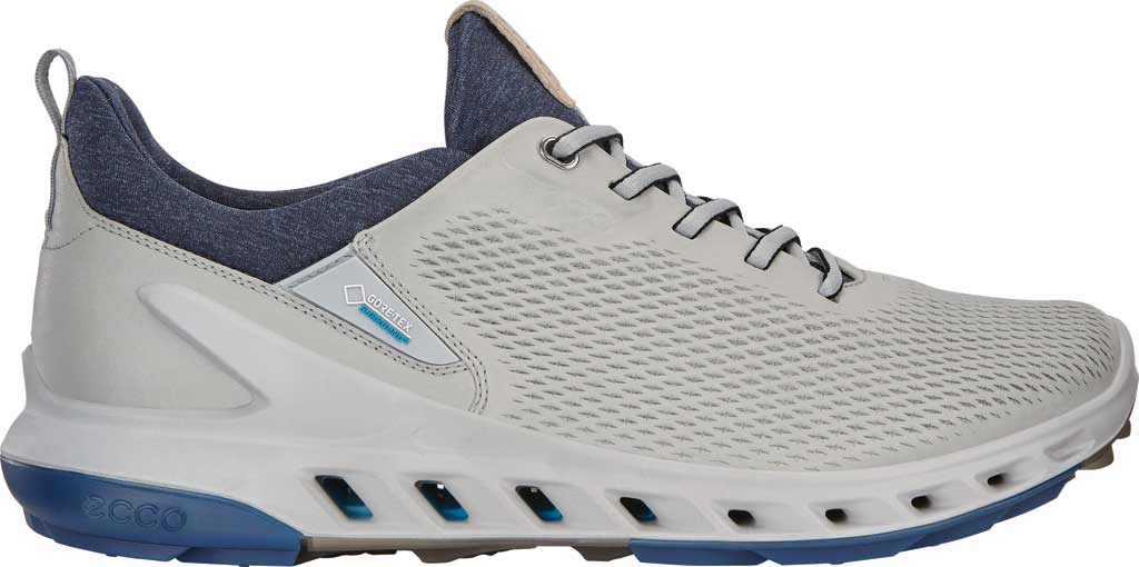 Men's ECCO BIOM Cool Pro GORE-TEX SURROUND Hybrid Golf Shoe, Concrete Yak Leather, large, image 2