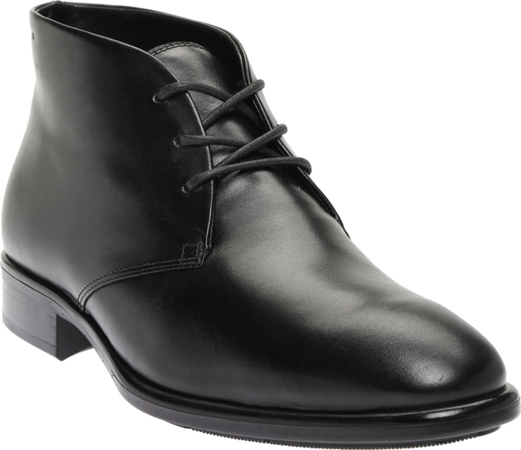 Men's ECCO Citytray GORE-TEX Waterproof Chukka Boot, Black Cow Leather, large, image 1