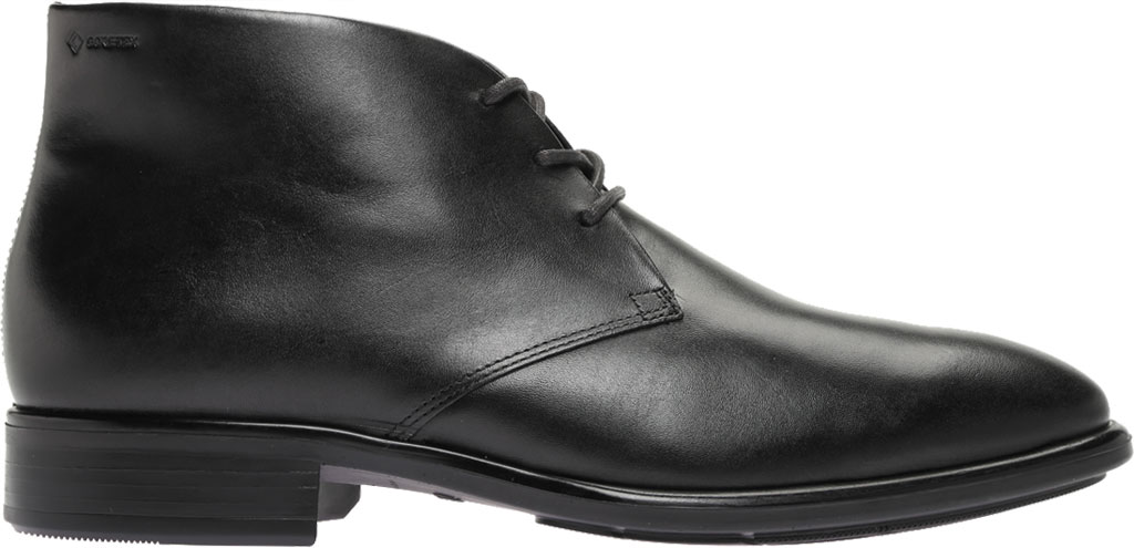Men's ECCO Citytray GORE-TEX Waterproof Chukka Boot, Black Cow Leather, large, image 2