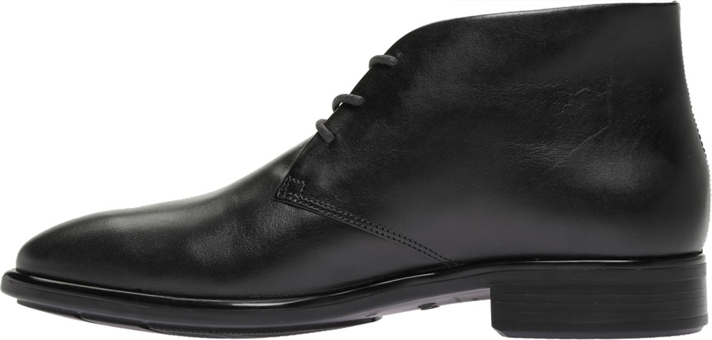 Men's ECCO Citytray GORE-TEX Waterproof Chukka Boot, Black Cow Leather, large, image 3