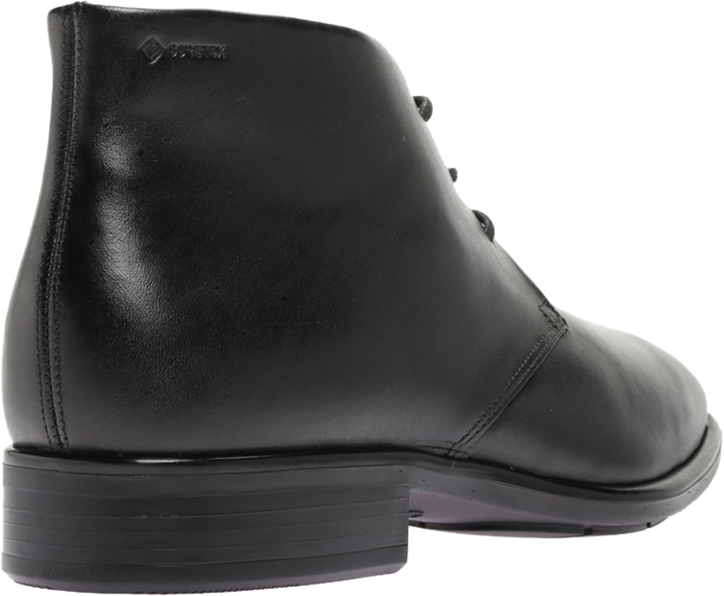Men's ECCO Citytray GORE-TEX Waterproof Chukka Boot, Black Cow Leather, large, image 4