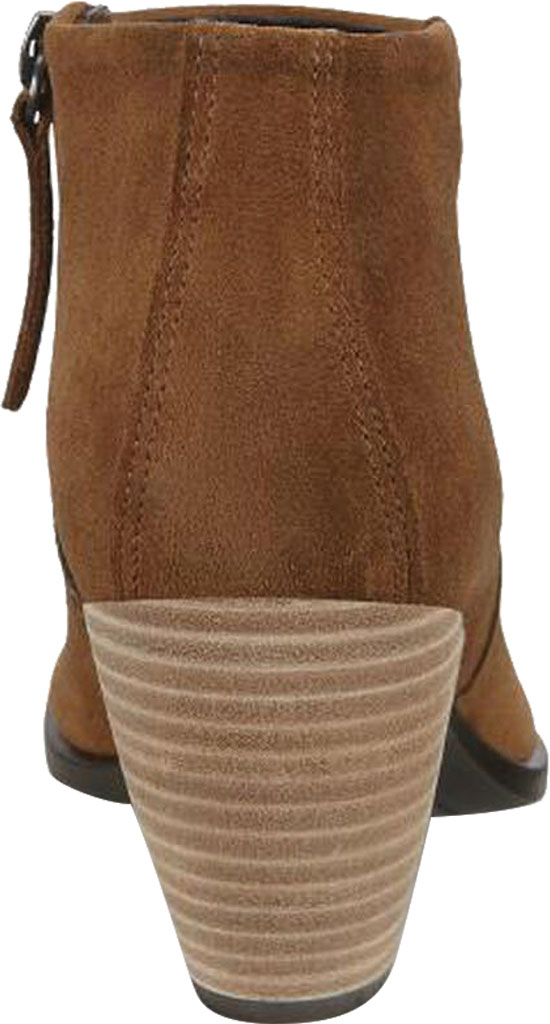 Women's ECCO Shape 55 HYDROMAX Western Ankle Bootie, Camel Calf Suede, large, image 4