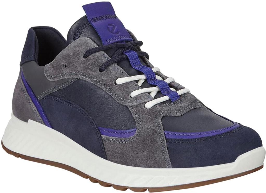 Women's ECCO ST.1 Urban Sneaker, Multicolor Night Sky Leather/Textile, large, image 1