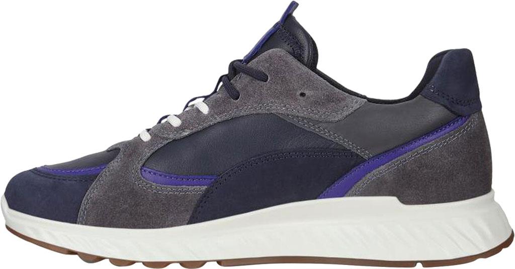 Women's ECCO ST.1 Urban Sneaker, Multicolor Night Sky Leather/Textile, large, image 3