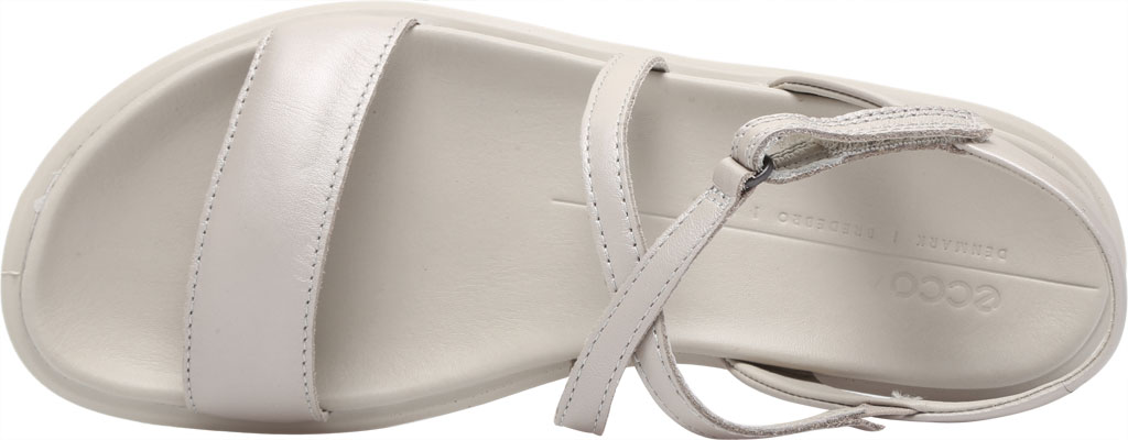 Women's ECCO Flowt LX Flat Strappy Sandal, Gravel Leather, large, image 5