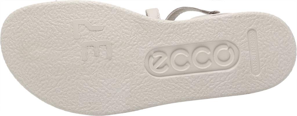 Women's ECCO Flowt LX Flat Strappy Sandal, Gravel Leather, large, image 6