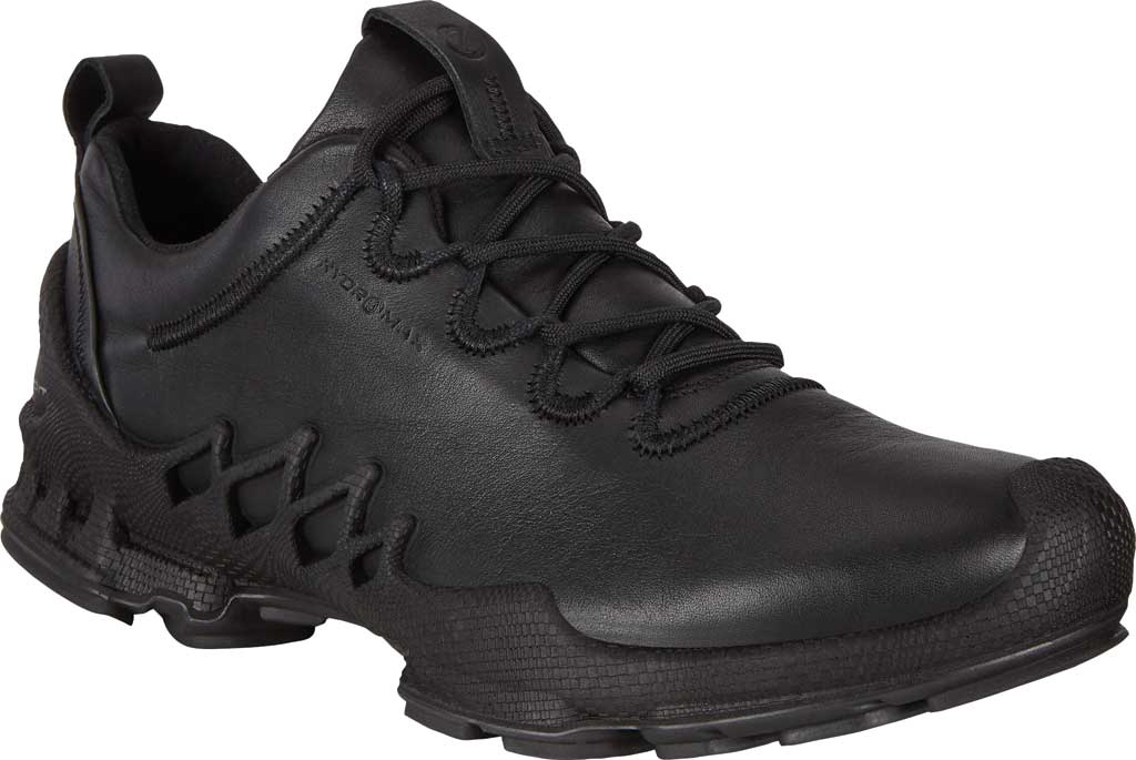Women's ECCO BIOM Aex Low HYDROMAX Sneaker, Black Cow Leather, large, image 1
