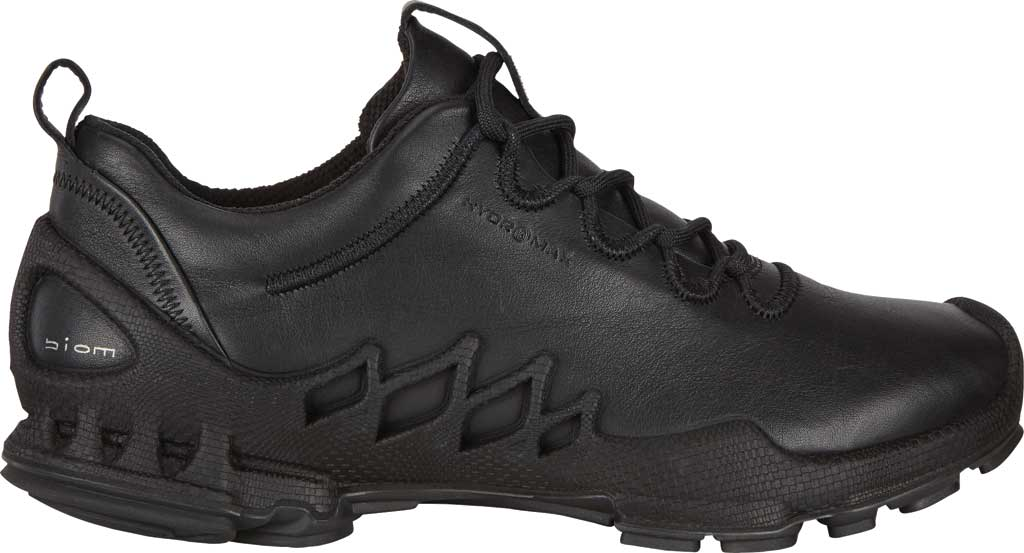 Women's ECCO BIOM Aex Low HYDROMAX Sneaker, Black Cow Leather, large, image 2