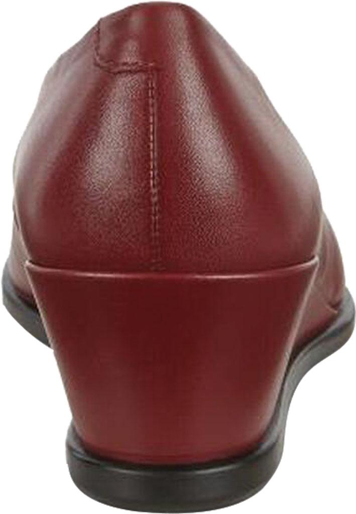 Women's ECCO Shape 45 Wedge Pump, Syrah Leather, large, image 4