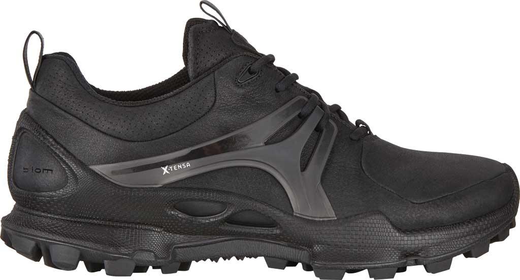 Men's ECCO BIOM C-Trail Low HYDROMAX Sneaker, Black Leather, large, image 2