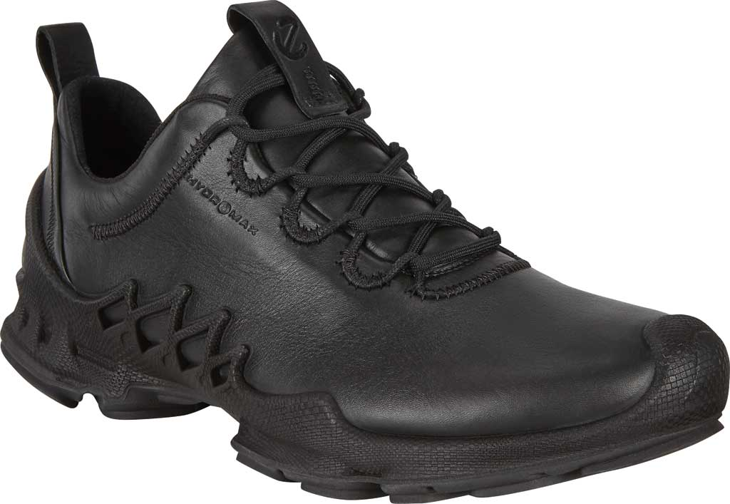 Men's ECCO BIOM Aex Low HYDROMAX Sneaker, Black Cow Leather, large, image 1