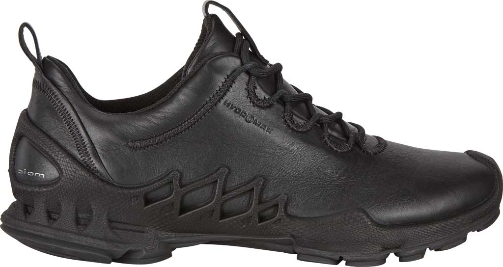 Men's ECCO BIOM Aex Low HYDROMAX Sneaker, Black Cow Leather, large, image 2